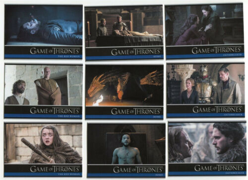2017 Game Of Thrones Saison 6 Complete Base Set #1-100 complet