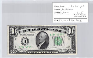 USA-United-States-10-Dollars-1934-C-York-B28474993E-Pick-430-D-C