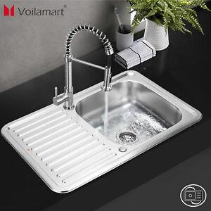 einbauspüle edelstahlspüle waschbecken küchenspüle