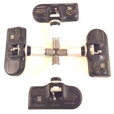 Set of 4 56053030AB Chrysler Dodge TPMS Tire Air Pressure Sensors 56053030AC OEM