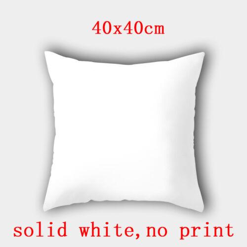 Polyester marbre Grain Throw Taille taie d/'oreiller Housse de Coussin Maison Canapé Décor