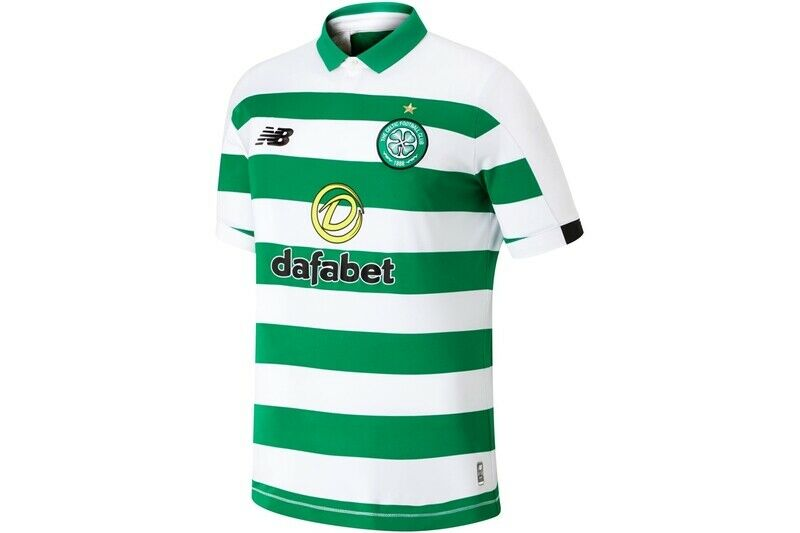 Nieuwe Balans mannens Celtic 19 20 Home S S Football Shirt Tshirt Tee Top