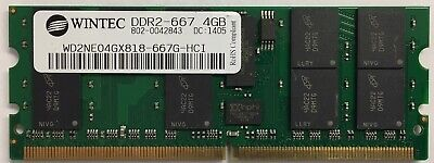 4GB 4x1GB Wintec WD2NE01GX809-667G-HE 1GB DDR2 667MHZ ECC Mini Server Memory