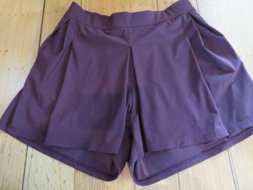 Lululemon Wine Pleated Skort Short Pleated Tennis