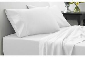 1200//1000 Thread Count Egyptian Cotton Home Bedding Items White Solid /& US Sizes