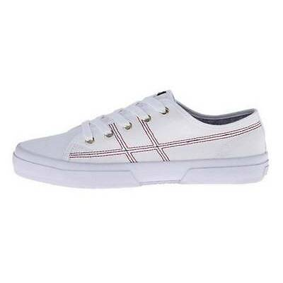 Women's Shoes Tommy Hilfiger RAINELEE Fashion Sneaker Lace Up Canvas White