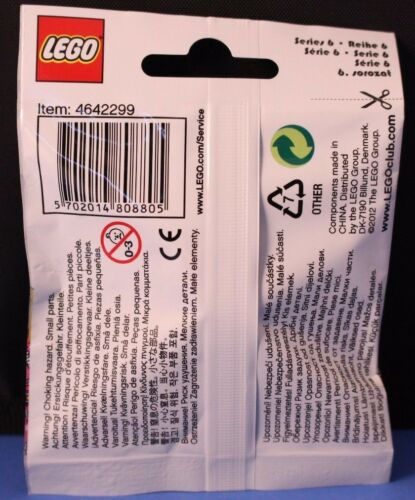 LEGO® Collectible Minifigures™ Series 6 MECHANIC #15 col06-15 100/% Official Lego