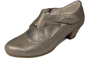 GABOR Schuhe Pumps schwarz echt Leder Nubuk G-Weite Absatz 25 mm NEU