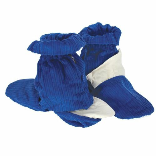 Blue Aroma Home Hot Sox Microwave Feet Warmers Micowavable Slippers