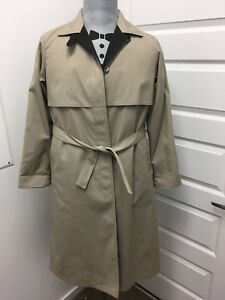 Brown vintage woolen coat 10P made in USA size M