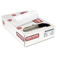 Jaguar Plastics Super Extra-heavy Bags 60gal 16mic 38 X 60 Natural 25 Bags/roll