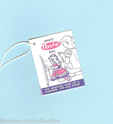 Made FOR 1950/'s Horsman RUTHIE dolls A WRIST hang TAG 1st issue