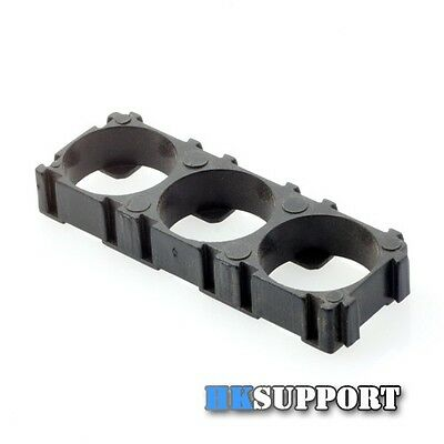 12 Pcs x 18650 Battery Pack Spacer ( Plastic Holder For 3 x 18650 Batteries )