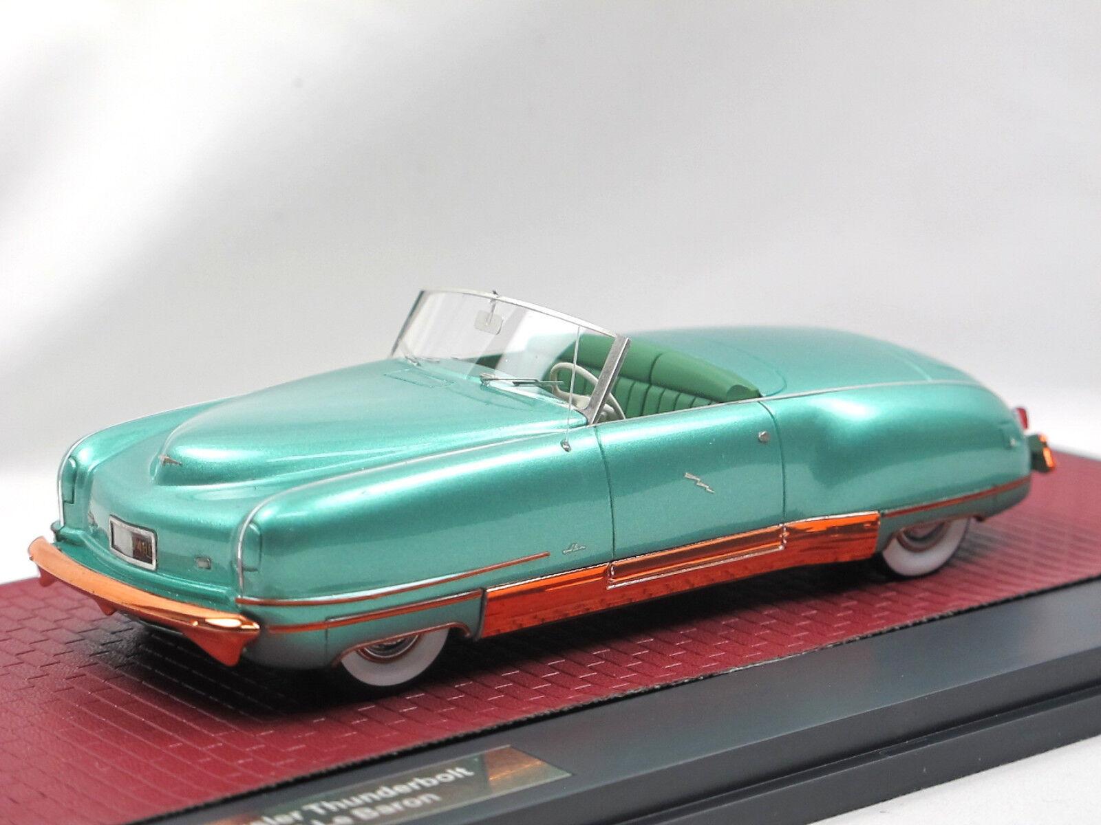 Matrice 1941 Chrysler LE CANARDEUR Concept LeBaron vert Open 1 43 limited