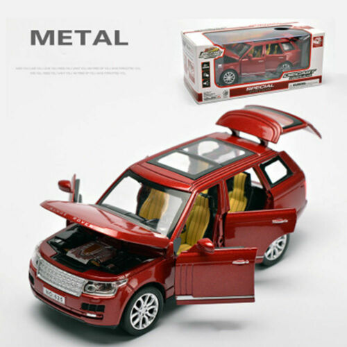 1//32 scale Land Rover Voiture Diecast Model With Sound /& Light kids jouets collections
