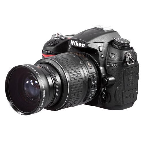 52MM 0.45x Wide Angle Macro Lens for Canon EOS 1000D 700D 650D 600D 550D 450D