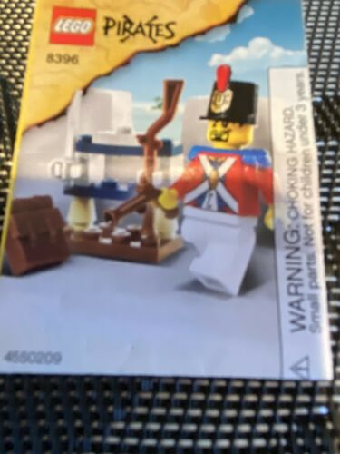 "LEGO 8396 PIRATES /""SOLDIER/'S ARSENAL/"" POLYBAG INSTRUCTION MANUAL NO BRICKS"