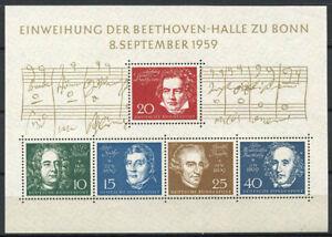 Bund-1959-Mi-Bl-2-Block-100-Postfrisch-Beethoven