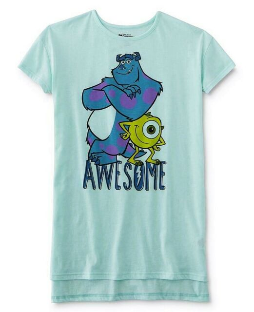 The Little Mermaid Ariel Size Medium,Large,XL Womens Nightgown Pajamas Shirt NEW