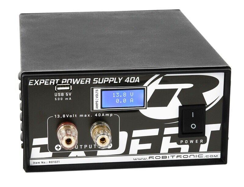 Robitronic Expert conmutador 40a con LCD & USB