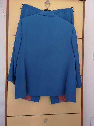 Tailleur Sigillate Ancora Tasche Elena Volta Turchese Color Solo Una Usato Miro' 5PWn8w08qB