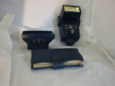 Vivitar 283 flash good condition with lens filter holder and color filter set