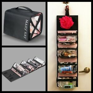 93c035ad03d9 Details about Mary Kay Travel Roll Up Bag (Unfilled) - Basic Black - NEW