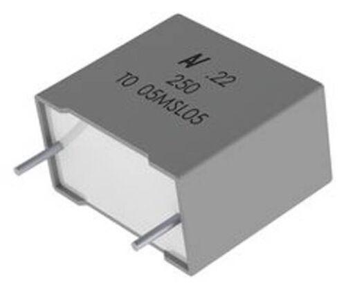 PET r60 Series microfarad 47 ± 10/% KEMET r60dr54705050k Condensatore a Film Mil