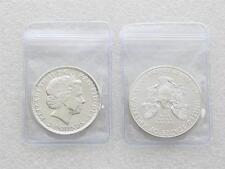 100Pcs Badge Holders Clear Plastic Coin Wallets Storage Envelopes Bag 5x5cm FM