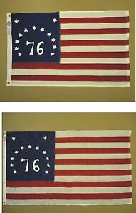 Bennington-039-76-Indoor-Outdoor-Sewn-Stripes-Embroidered-Stars-All-Sizes-Fabrics