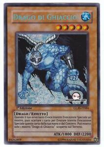 YUGIOH • GLAS-IT084 Drago di Ghiaccio Ice Dragon • RARA SEGRETA ITALIANO