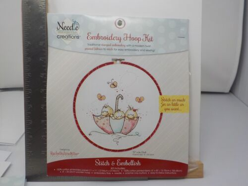 NEEDLE CREATIONS D IS FOR DUCK RACHELLE ANNE MILLER EMBROIDERY KIT NEW A10882