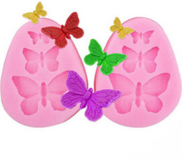 Silicone Cake Butterfly Fondant Mould Lace Mold Sugar Craft Cake Decorating Tool