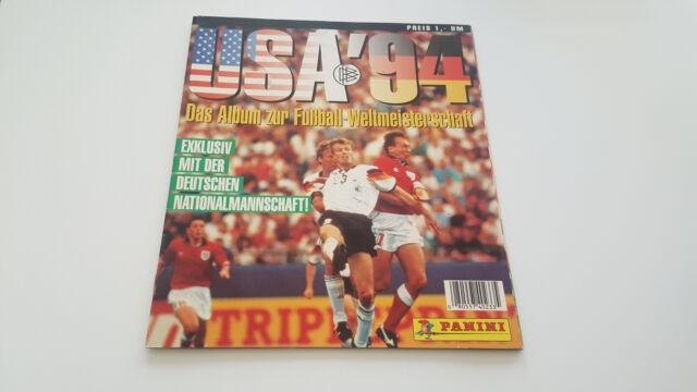 PANINI LEERALBUM WM 1994 WC 94 SAMMELALBUM WORLD CUP USA EMPTY ALBUM WM 1994