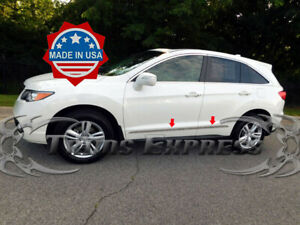 2013-2019-Acura-RDX-4Pc-Stainless-Steel-Flat-Body-Side-Molding-Trim-Accent-Door
