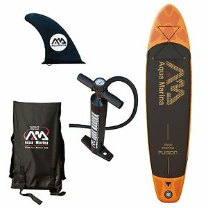 Aqua Marina Fusion 10 10 6 Thick Stand Up Paddle Board Inflatable SUP