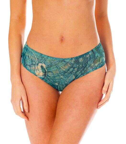 Kiniki Santorini Tan Through Sonnendurchlässige High Waisted Bikinihose Damen