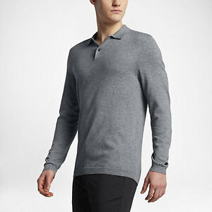 Image is loading Nike-Golf-Wool-Sweater-Polo-CHOOSE-SIZE-811554-