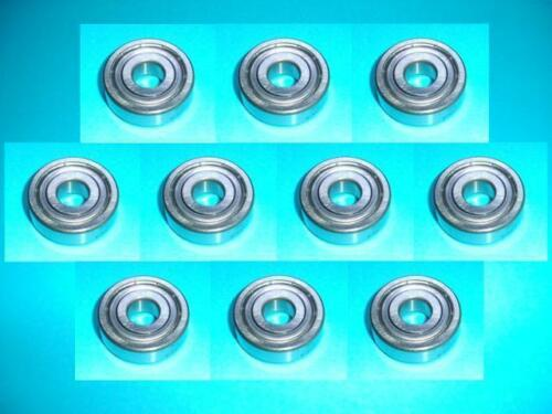 10 Rillenkugellager Kugellager 6301 ZZ / 2Z / 2ZR   NEU