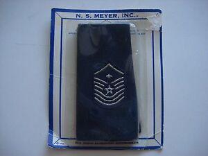 Paire De États-Unis Air Force Père Maître Sergent Épaulettes Épaule Badges, NS
