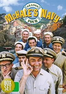 McHale-039-s-Navy-Season-4-DVD-2009-5-Disc-Set-New-Sealed-Region-4