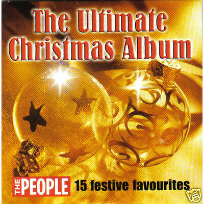 V/A - The Ultimate Christmas Album (UK 15 Tk CD Album) (The People)