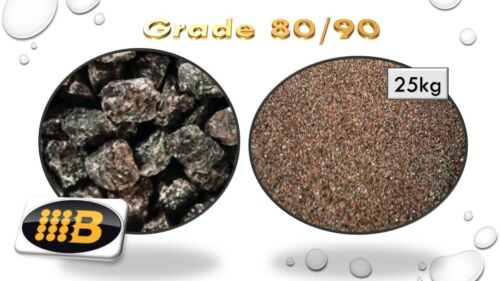 Aluminium Oxide Grade 80//90 25kg Blast Cabinet Grit Glass Etching Media