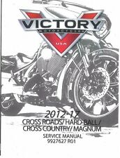 Victory Cross Country /Tour /8-Ball 2012 2013 2014 2015 2016 2017 service manual