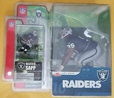 McFarlane NFL Series 10 & Mini Sports Pick Warren Sapp Oakland Raider Figures