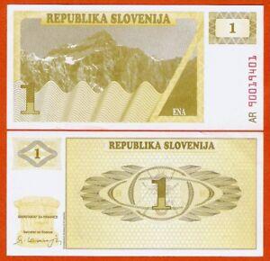 P01a   Slowenien / Slovenia    1  Tolarjev 1990  UNC