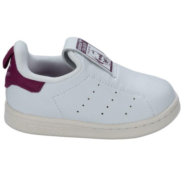 Mens ADIDAS STAN SMITH White Leather Trainers S80342 UK 10.5
