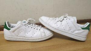 Détails sur Adidas Stan Smith Homme en Cuir Blanc Baskets Taille UK 9.5 EU 44 afficher le titre d'origine
