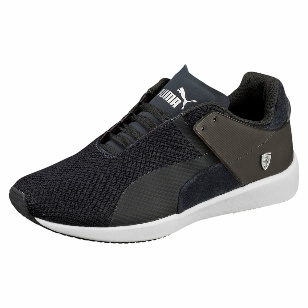 Men's PUMA FERRARI F116 Casual chaussures, 305507 01 Tailles 7.5-10.5 moonless night-wh