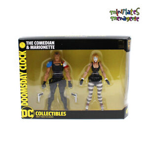 DC-Collectibles-Watchmen-Doomsday-Clock-Comedian-amp-Marionette-7-034-Action-Figures